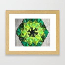 Forest Hues Framed Art Print