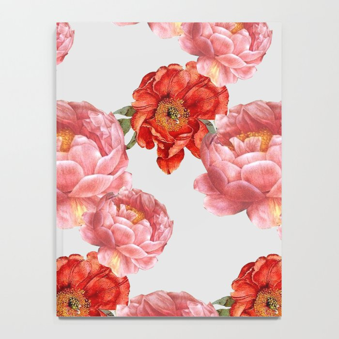 vintage floral Notebook