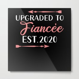 2020 Engagement Metal Print
