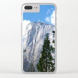 El Capitan - Yosemite National Park Clear iPhone Case