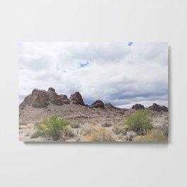 Desert Mountain California Metal Print