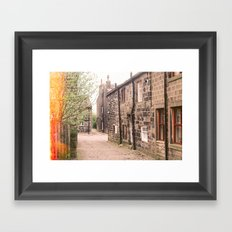 Home is where your heart is. Framed Art Print