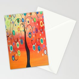 Fiesta Tree Stationery Cards