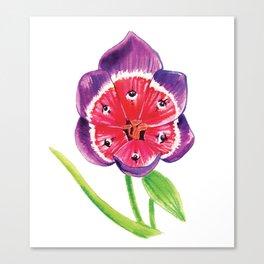 Eye Flower Canvas Print