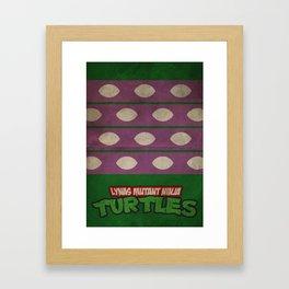 LYNAS Mutant Ninja Turtles: Donatello Framed Art Print