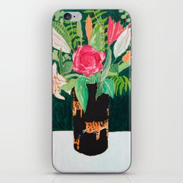 Tiger Vase iPhone Skin