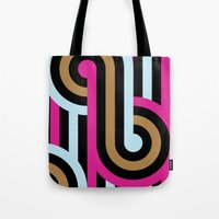 infinity Tote Bags featuring Infinity by Michelle Nilson