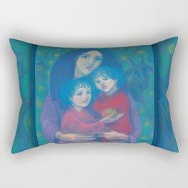 Night Fairytale Rectangular Pillow