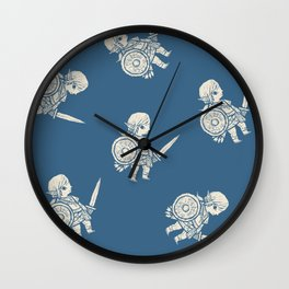 botw pattern Wall Clock