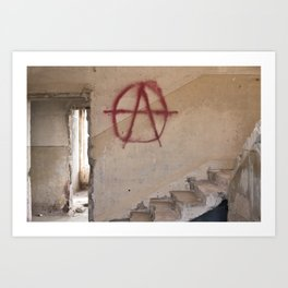 Abandoned house 1 Art Print