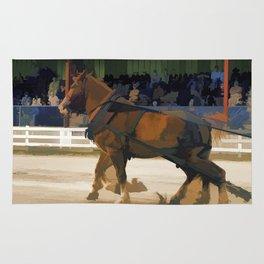 Pure Horsepower - Horse Pulling Event Rug