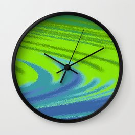 Water of color Wall Clock
