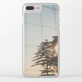 Fall afternoon Clear iPhone Case