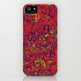 Ipad skins, Iphone, Computer, Canvas, Print, Red, Abstract, Funky iPhone Case