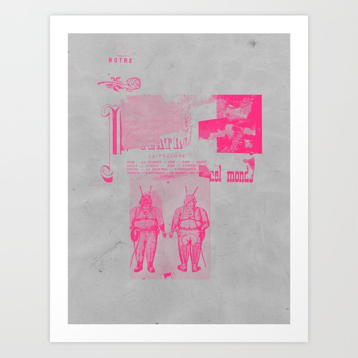 NIHILISTINH Art Print
