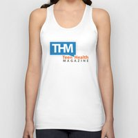 health Tank Tops featuring Teen Health Magazine by TeenHealthMagazine