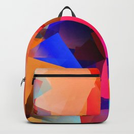 Play with transparent cubes and plates Backpack