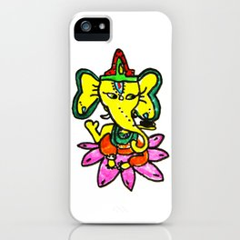 Ganesha by Elisavet iPhone Case
