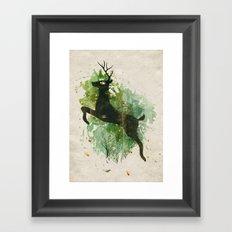 Burst of Nature Framed Art Print