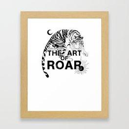 THE ART OF ROAR Framed Art Print