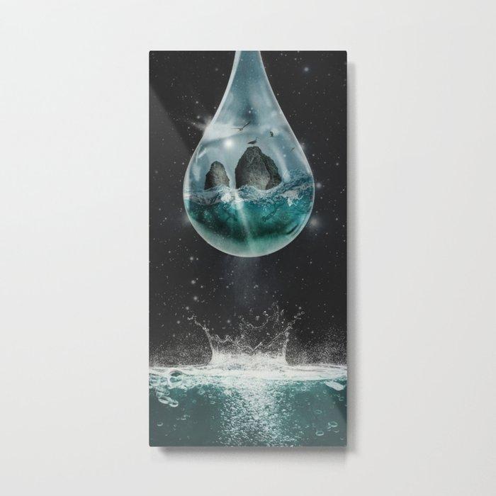 Universe's Tear Metal Print