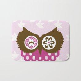 ALMOST SIMETRIC OWL Bath Mat