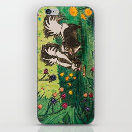 Skunk Picnic iPhone Skin