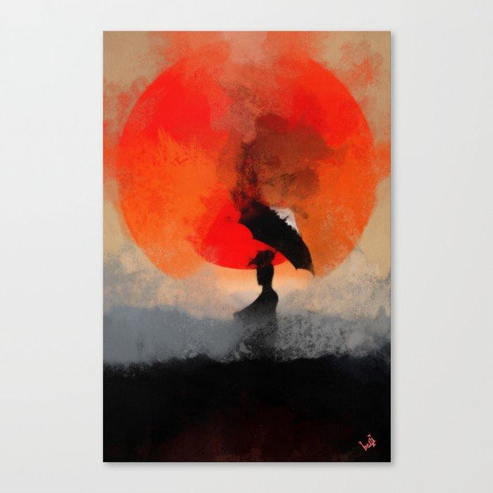 umbrellaliensunshine: atomicherry winter! Canvas Print