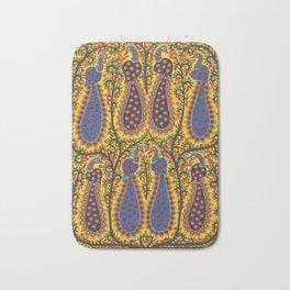 Peacocks Bath Mat