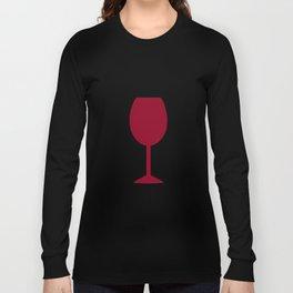 Wine Burgundy Long Sleeve T-shirt