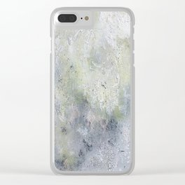Baked Nicotine Clear iPhone Case