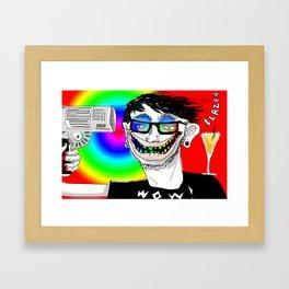 Blazen Framed Art Print