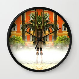 Mirror Massena Wall Clock
