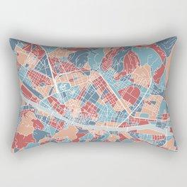 Florence map, Italy Rectangular Pillow
