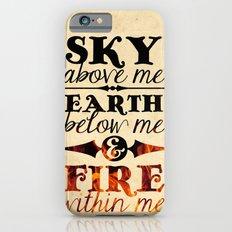 Sky Earth Fire Slim Case iPhone 6s