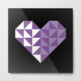 polygons in my heart Metal Print