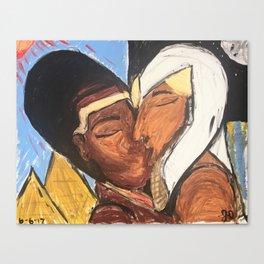 Long Ass Love Story Canvas Print