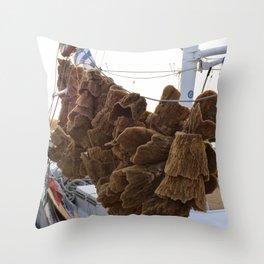 Sponges  Throw Pillow