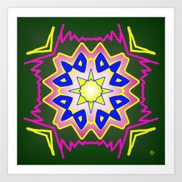 Symmetric composition 52 Art Print