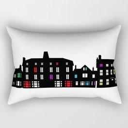 Victorian Facades Rectangular Pillow