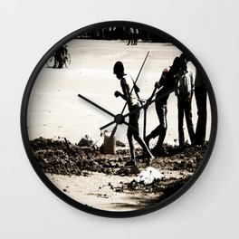 Faces of India Wall Clock