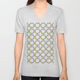 Circle and abstraction 3-,abstract,geometric,geometrical,circle,sphere Unisex V-Neck