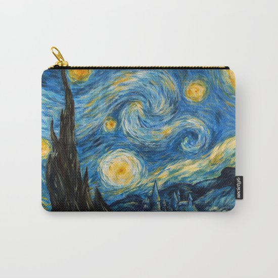A Starry Night at Hogwarts Carry-All Pouch