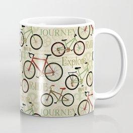 Bicycles, Journey Coffee Mug