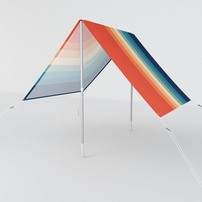 Retro 70s Color Palette III Sun Shade