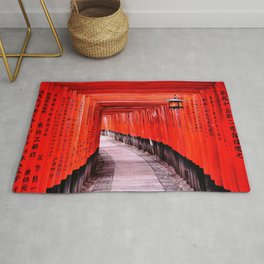 Through the Gates (Kyoto, Japan) Rug
