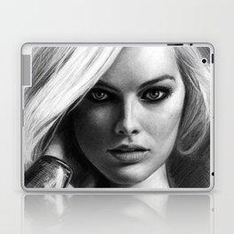 Margot Robbie Pencil Sketch Laptop & iPad Skin
