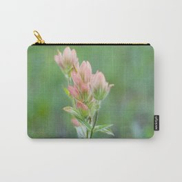 Pink Paintbrush Carry-All Pouch