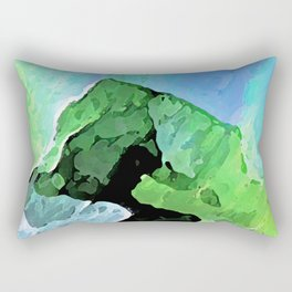 Nothern Lights Rectangular Pillow