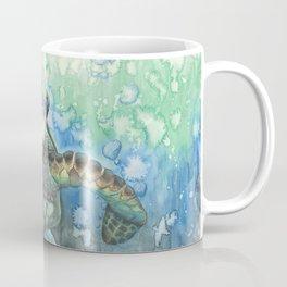 Sea Turtle Glides Coffee Mug
